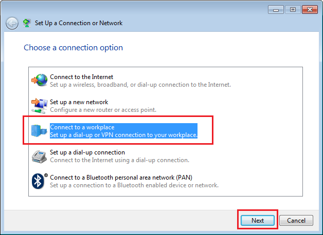 setup l2tp vpn on windows 7