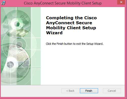 cisco anyconnect windows
