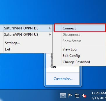 connect to openvpn on windows 7